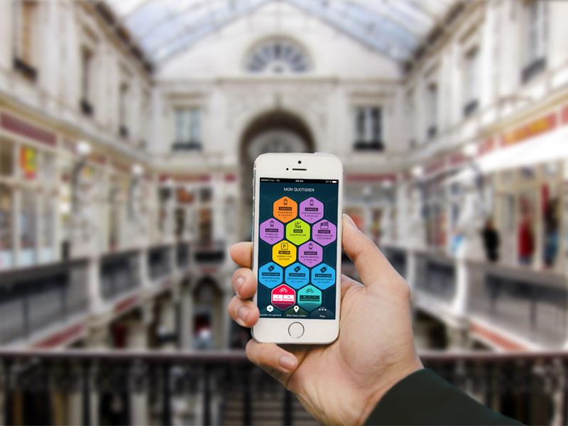 Nantes dans ma poche : appli mobile de Nantes Métropole