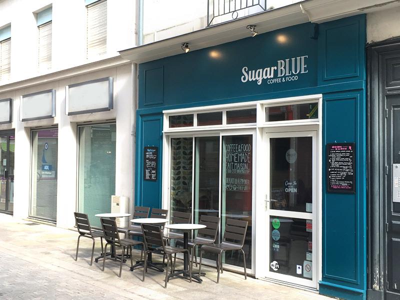 Le Sugar Blue café à Nantes : test du restau et du salon de thé de ce coffee shop nantais