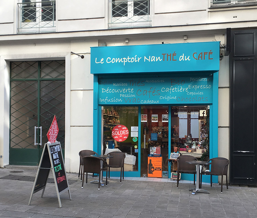 Le Comptoir Nanth Du Caf Boutique Et Salon De Th