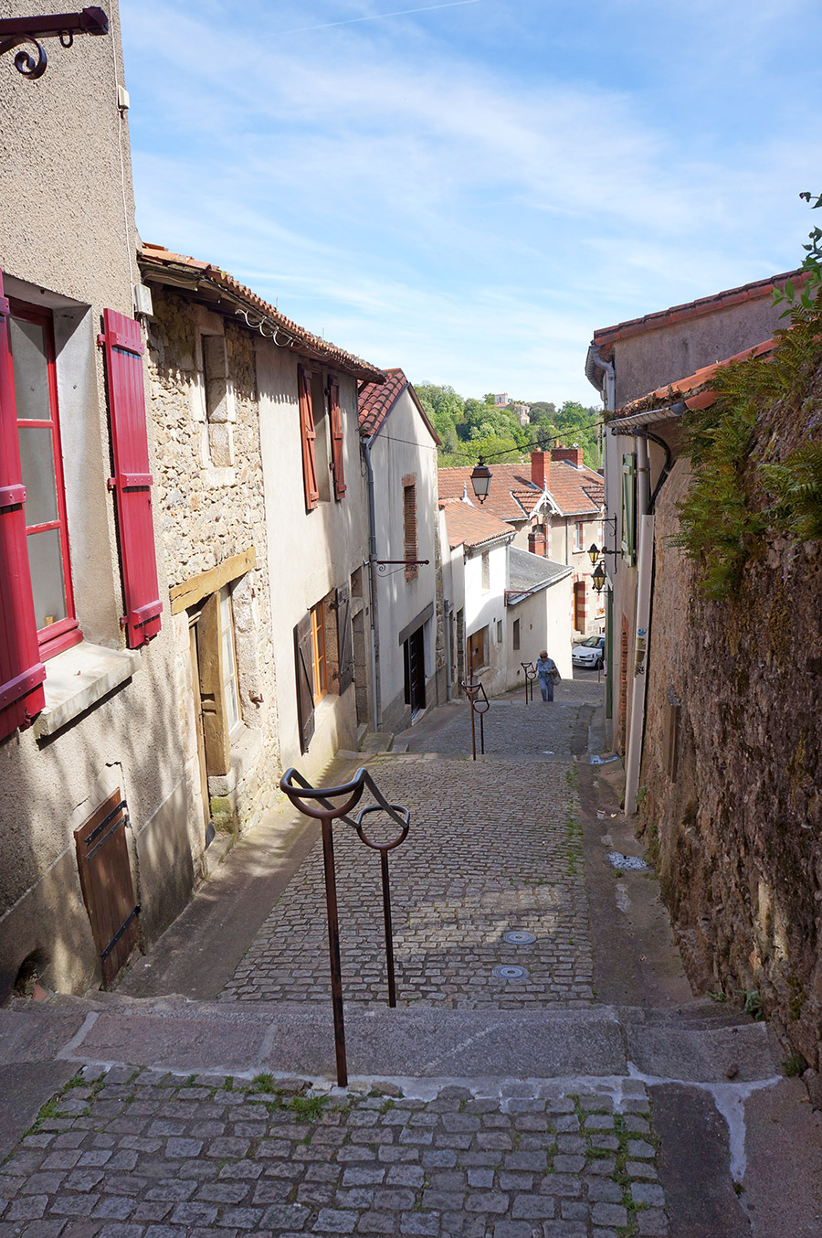 Les rues de Clisson