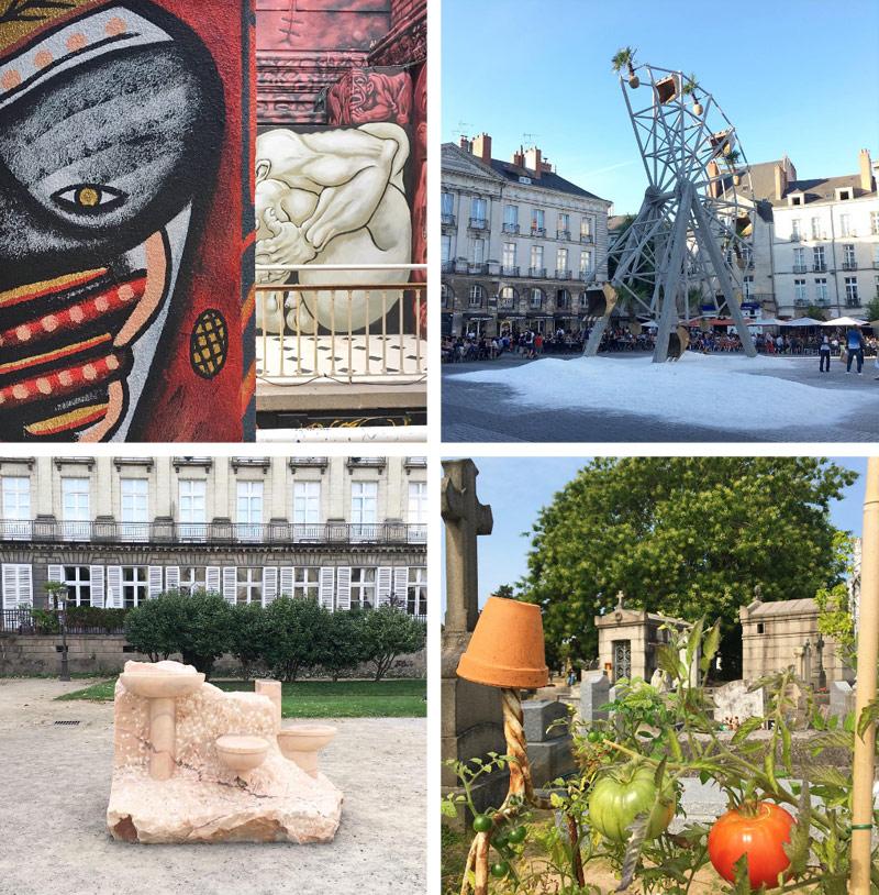 Oeuvres du Voyage à Nantes 2017