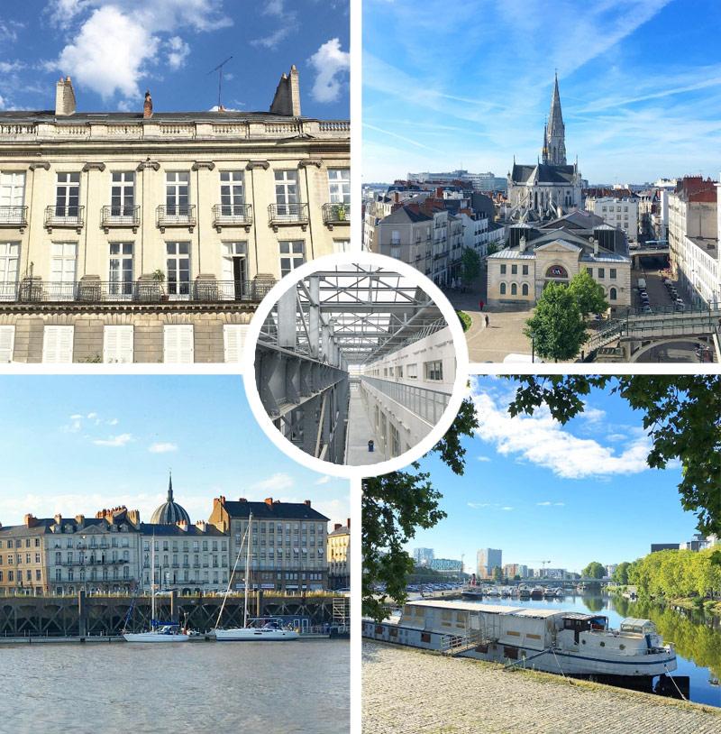 Idées de promenades dans Nantes