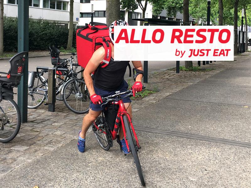 Mon test d'Allo resto Nantes