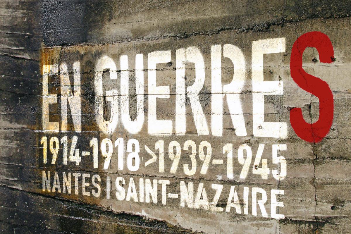 """Exposition """"en guerre"""" à Nantes"""