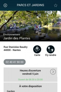 Les lieux utiles dans Nantes dans ma poche