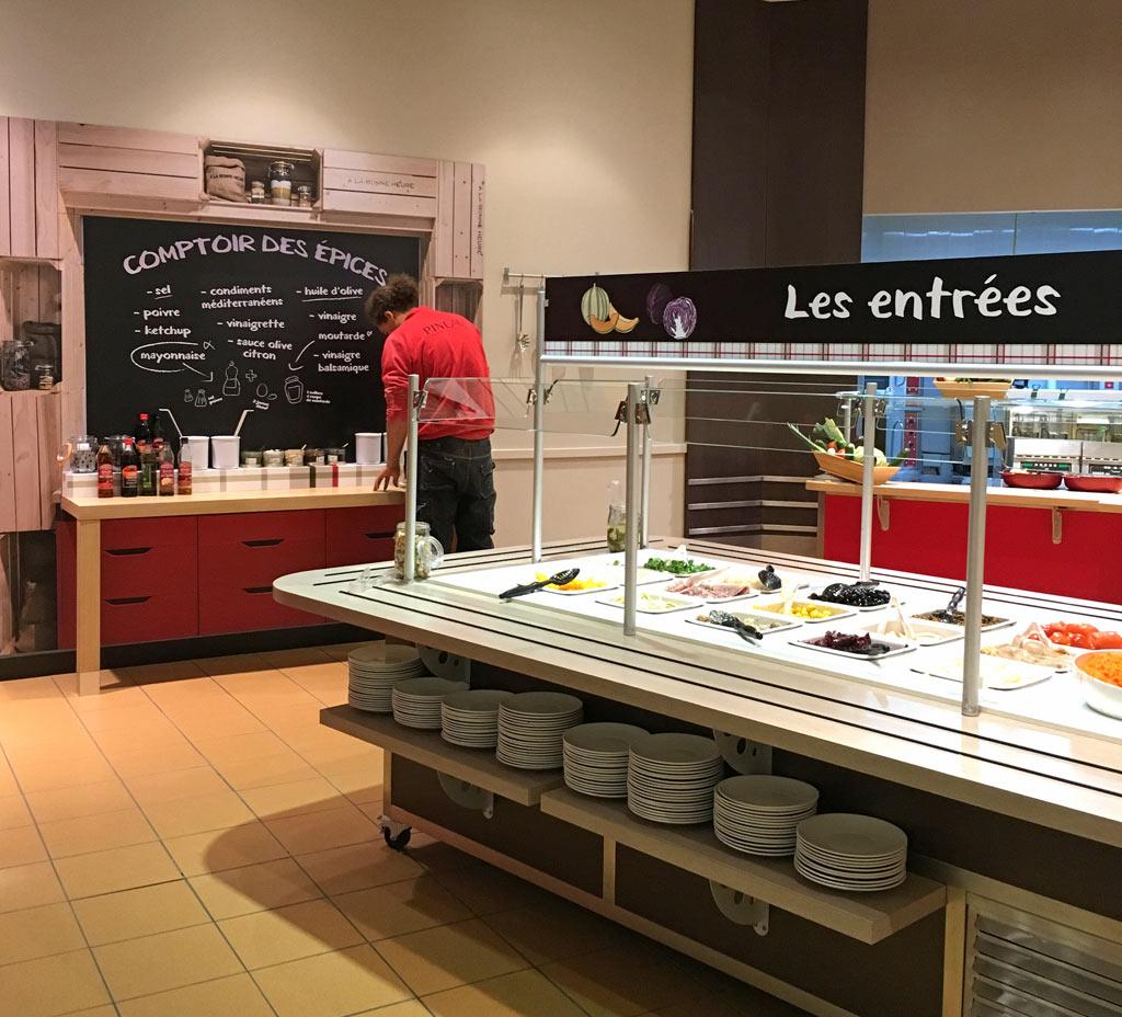 Avis restaurant a la bonne heure nantes buffet a volonte - Dans la cuisine nantes ...