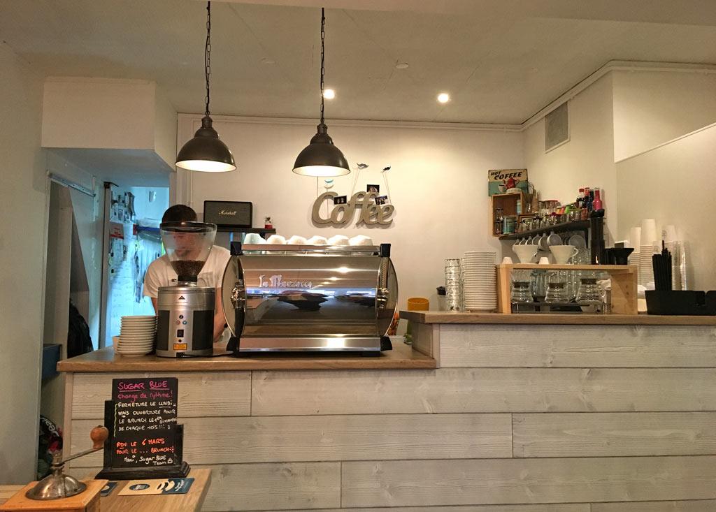 Sugar blue cafe nantes salon de the vegan sans gluten for Salon nantes