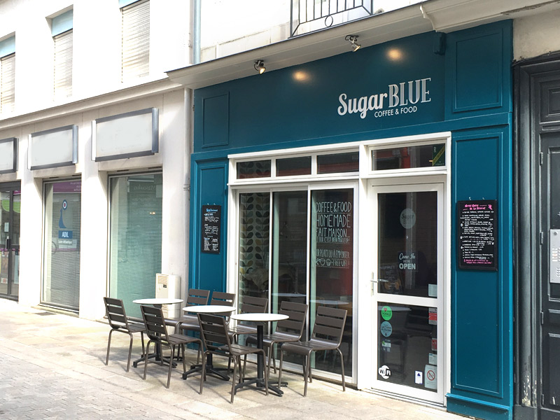 Le Sugar Blue café à Nantes : test du restau et du salon de thé de ce coffee shop nantais