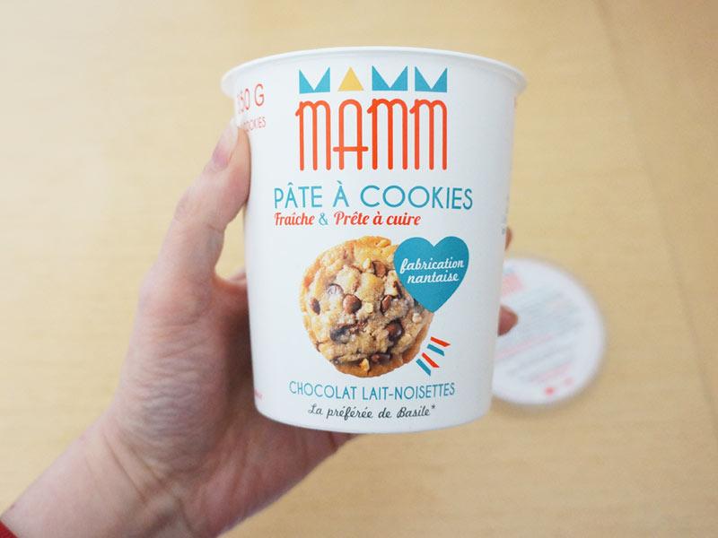 La pâte à cookies Mamm cookies