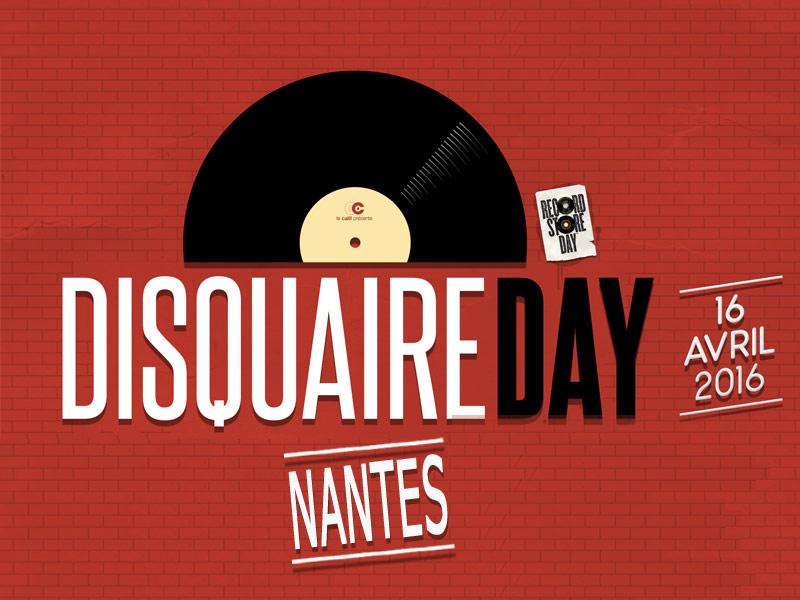 Programme du disquaire day 2016 à Nantes