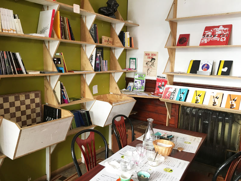La Cantine de livresse restaurant végétarien et bio à Nantes