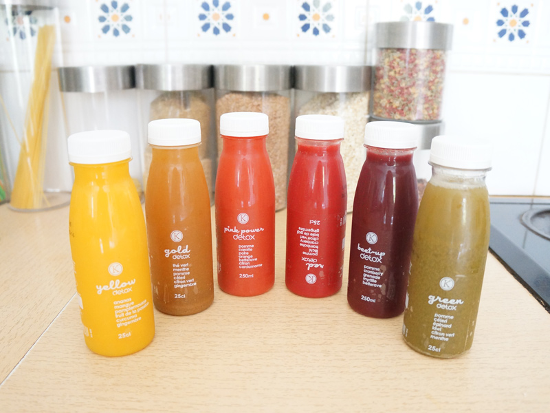 Test de la cure detox Kitchen diet