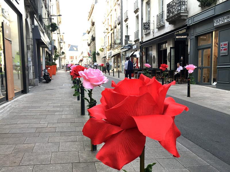 Balade à Nantes rue Franklin