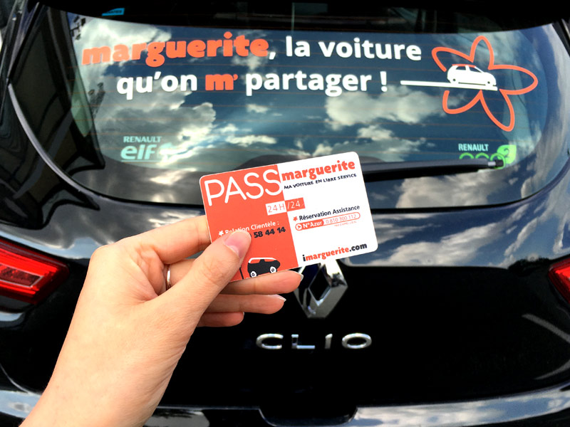 Test de Marguerite : auto en libre service à Nantes
