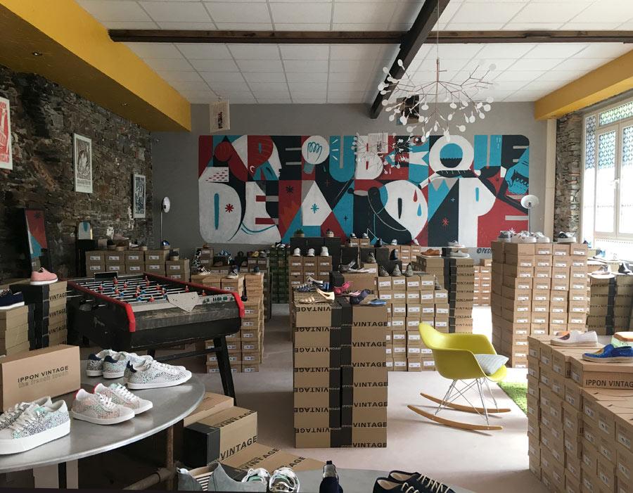 Ippon Ippon Ippon vintage marque nantaise createur chaussures 2 88994c