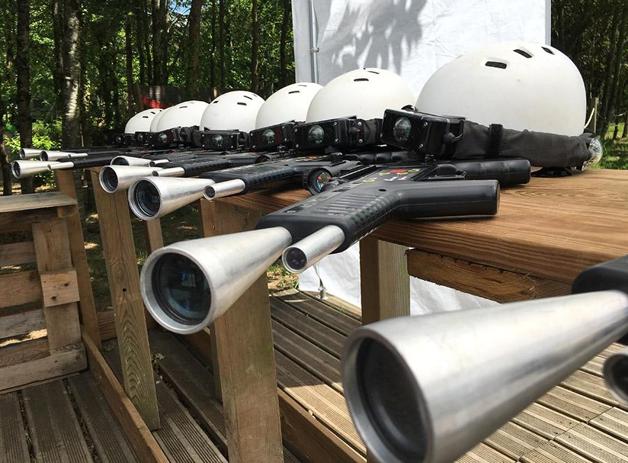 Laser tag à la Vallée des Korrigans à Savenay