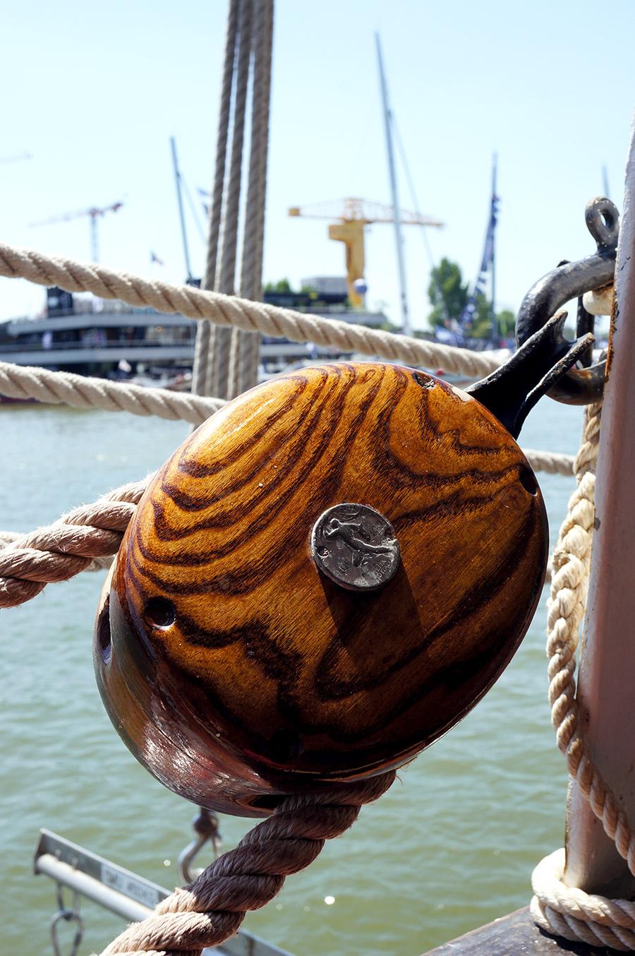 Le Belem, bateau classé monument historique