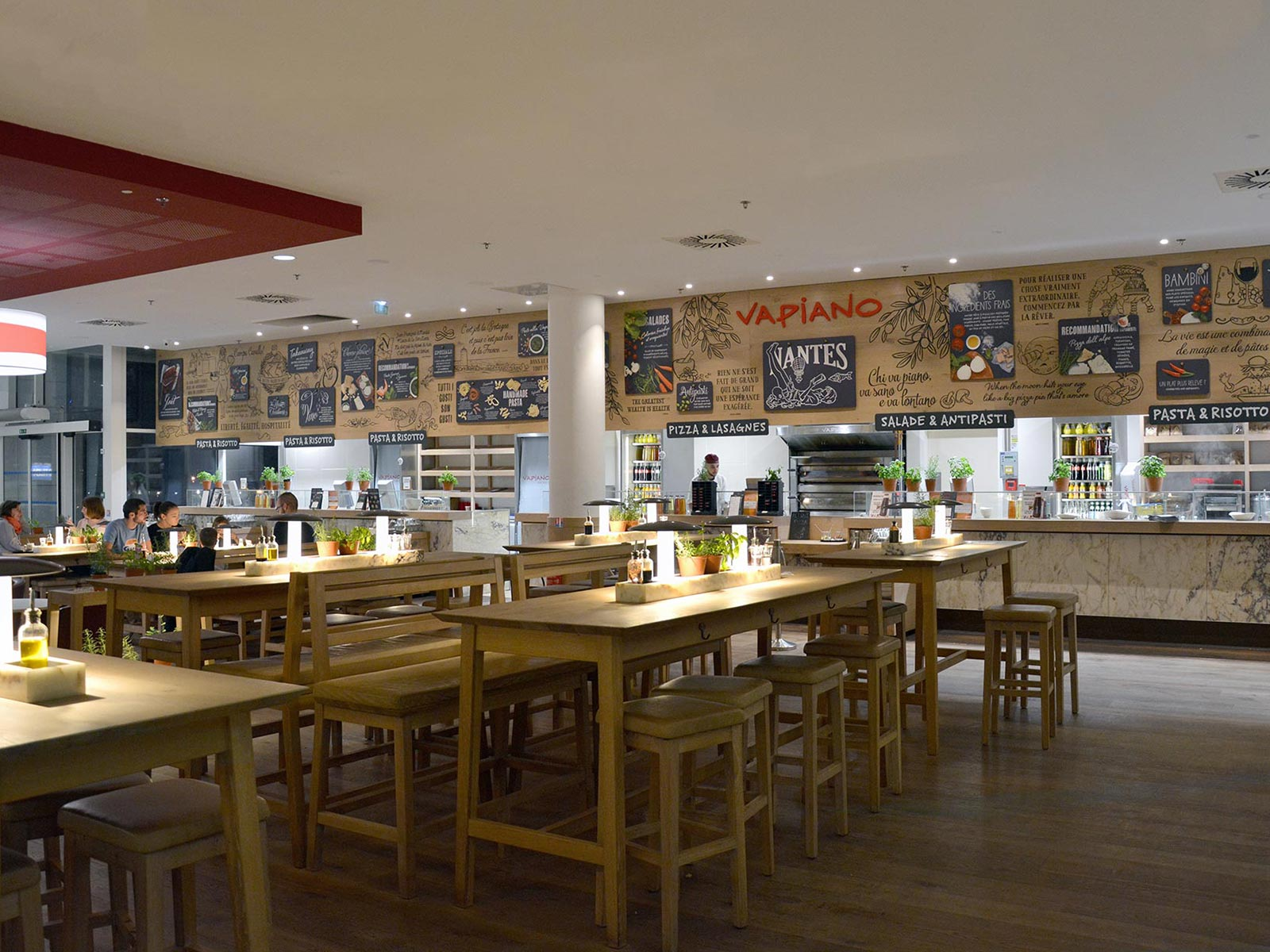 article de blog sur le restaurant Vapiano Nantes Atlantis