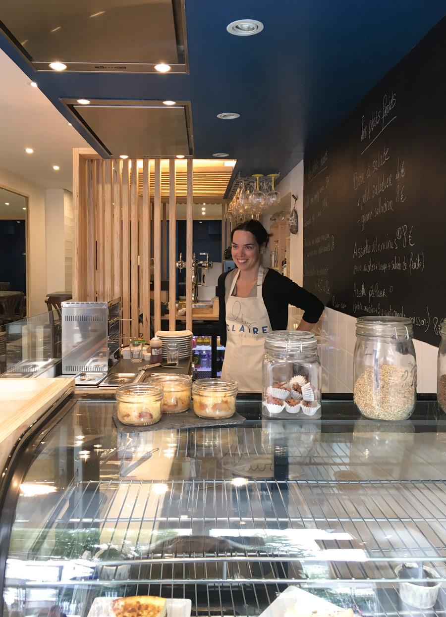 Chez Claire restaurant de cuisine maison à Nantes