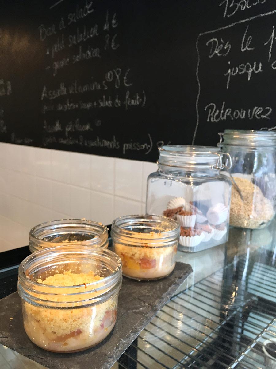 Les desserts de Chez Clare à Nantes