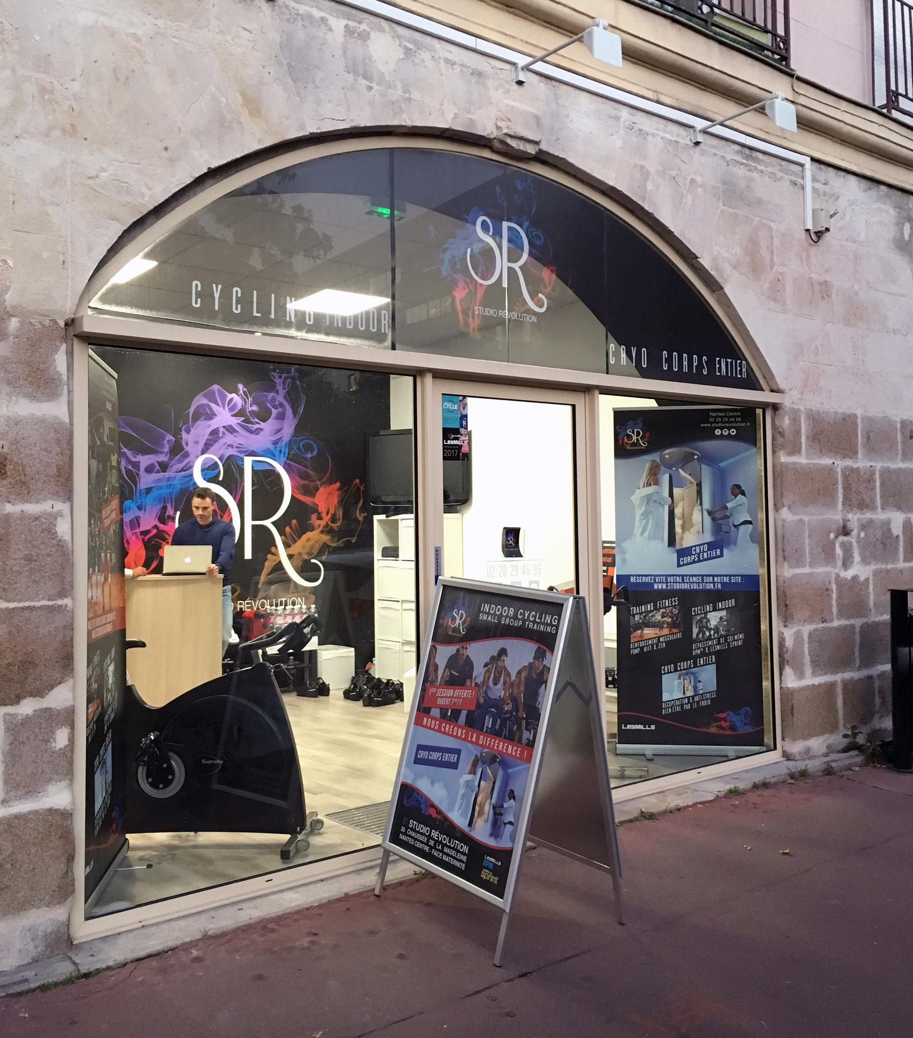 Salle de sport et cycling à Nantes : Studio révolution