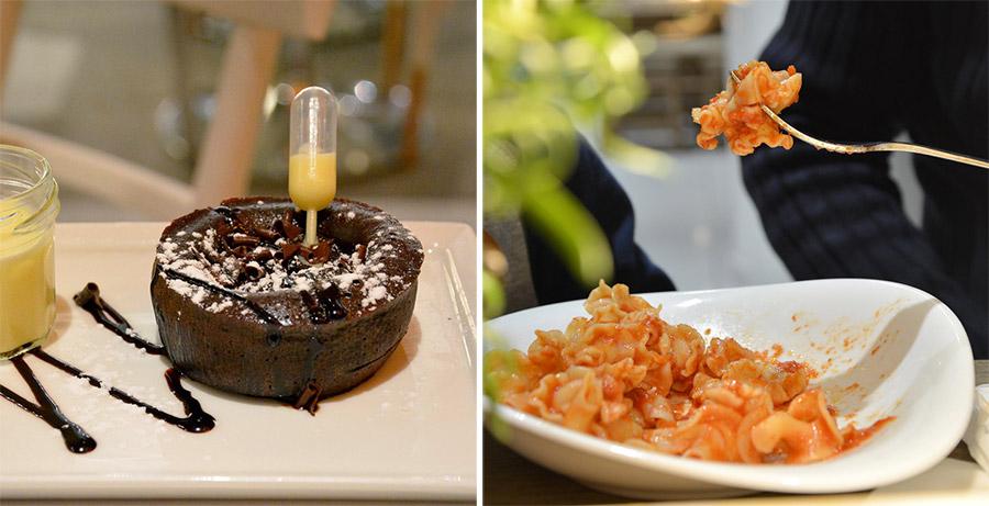 Deux restaurants à St Herblain Le paradis du fruit et Vapiano