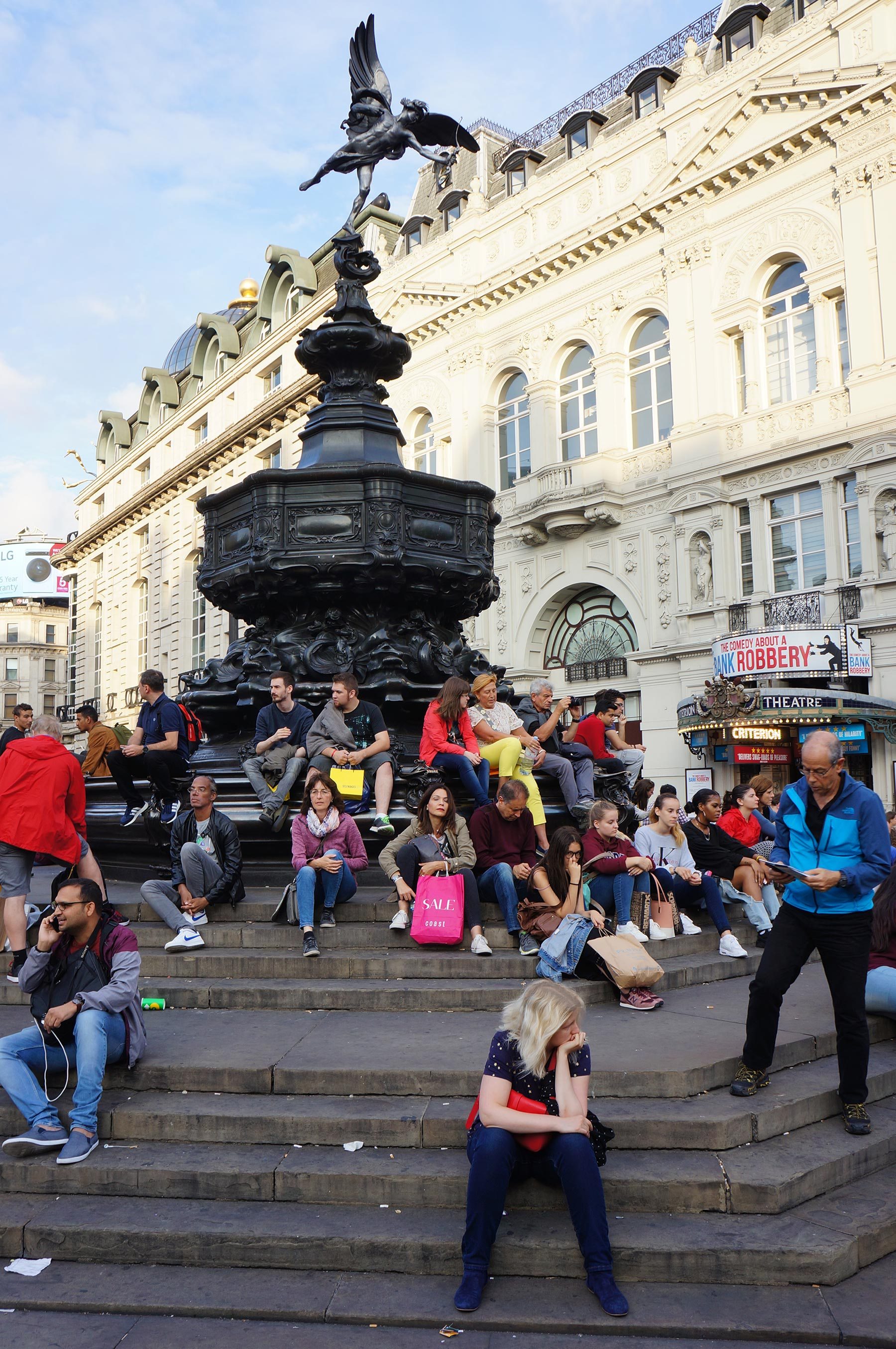 Picadilly circus à Londres