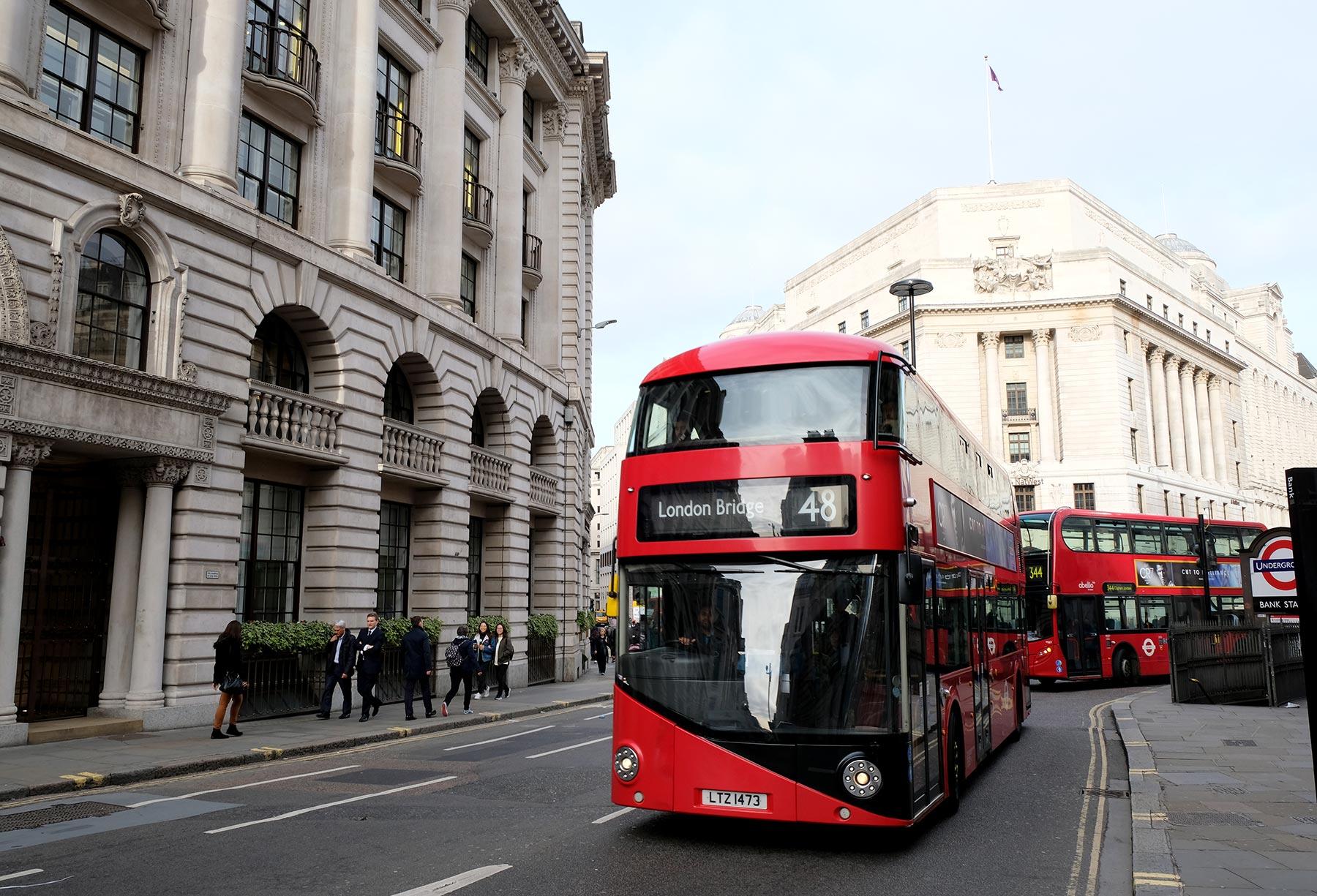 Guide voyage à Londres : le bus