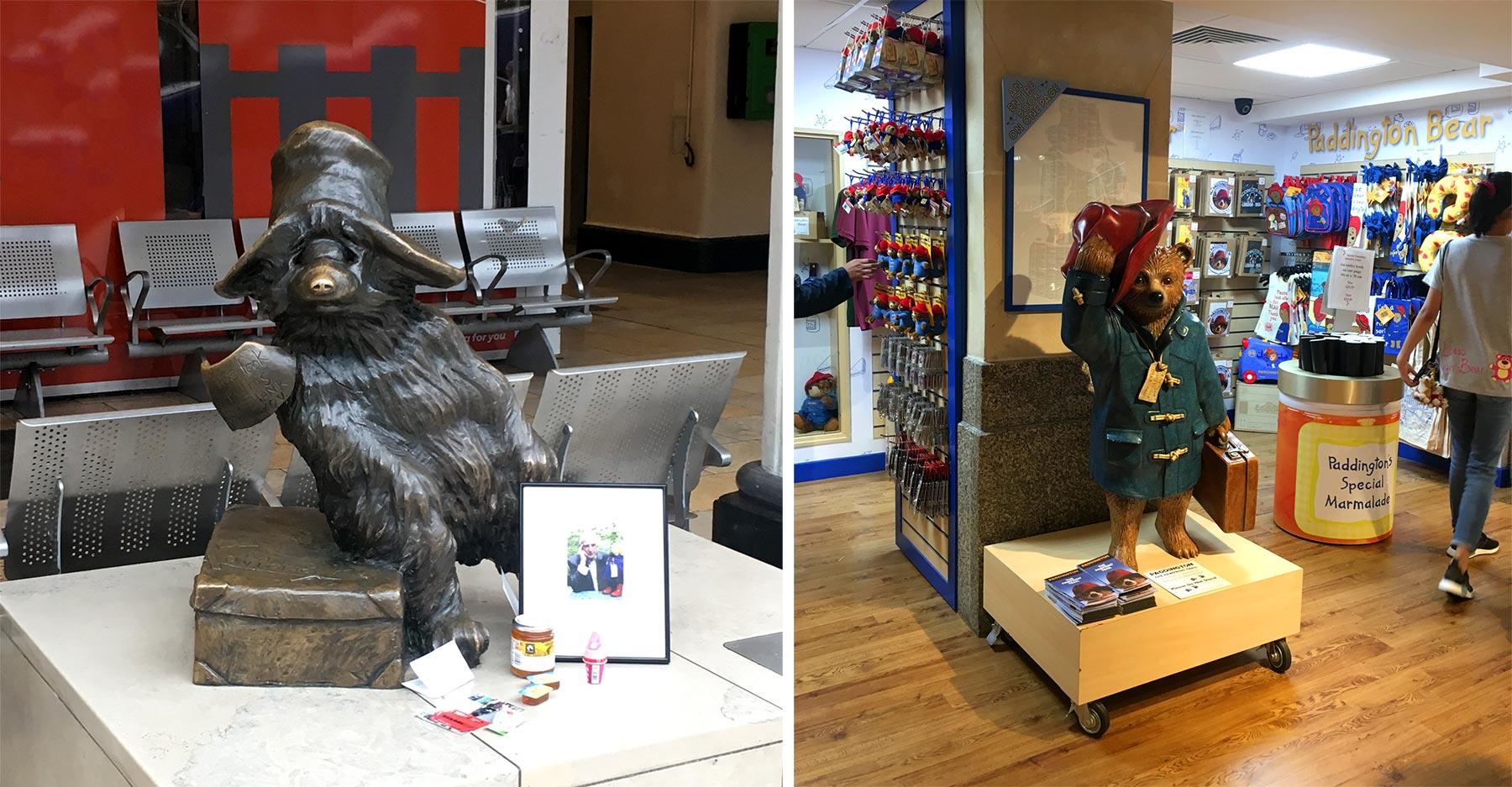 L'ours Paddington à Londres