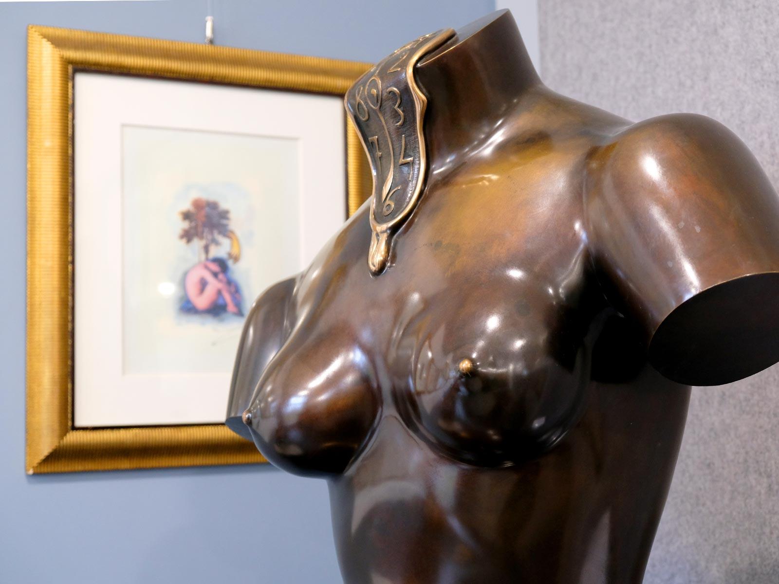 Visite de l'exposition Dalí à Nantes