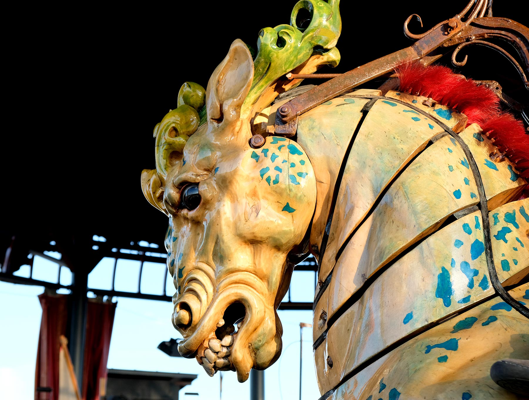 Le Carrousel des mondes marins, faisant partie des Machines de l'île à Nantes