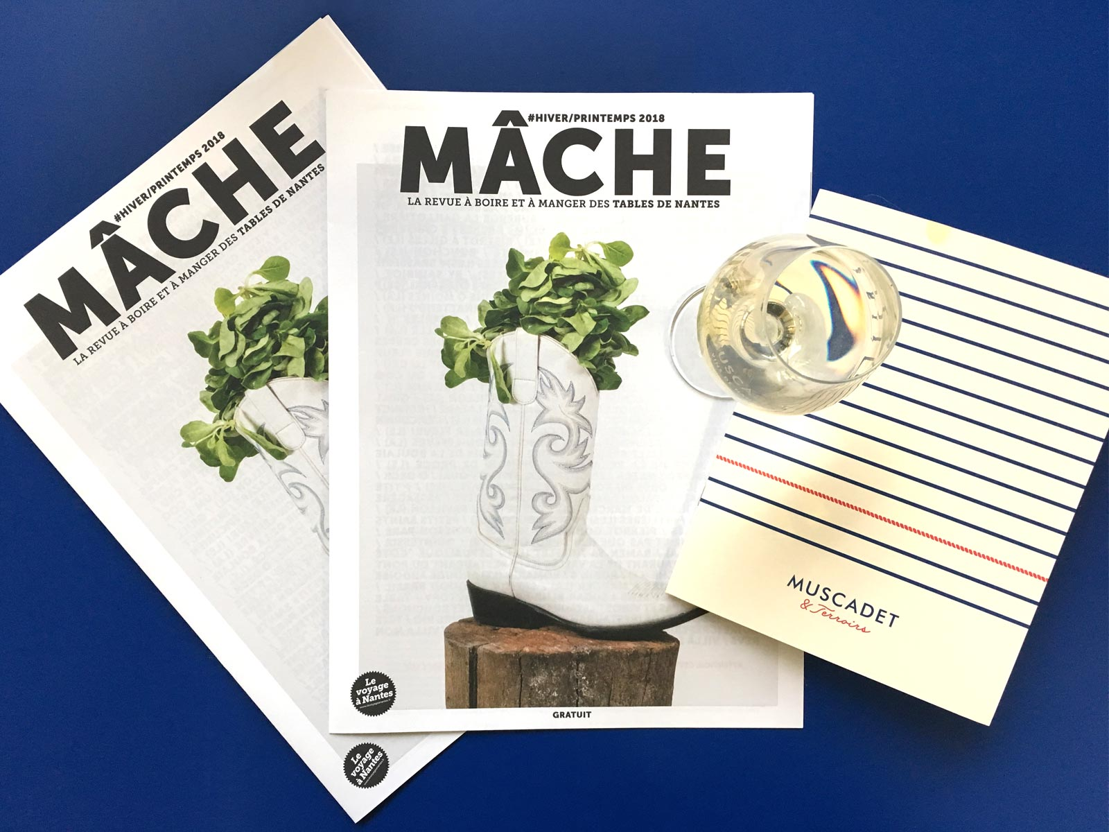 Mâche, le magazine du guide des Tables de Nantes
