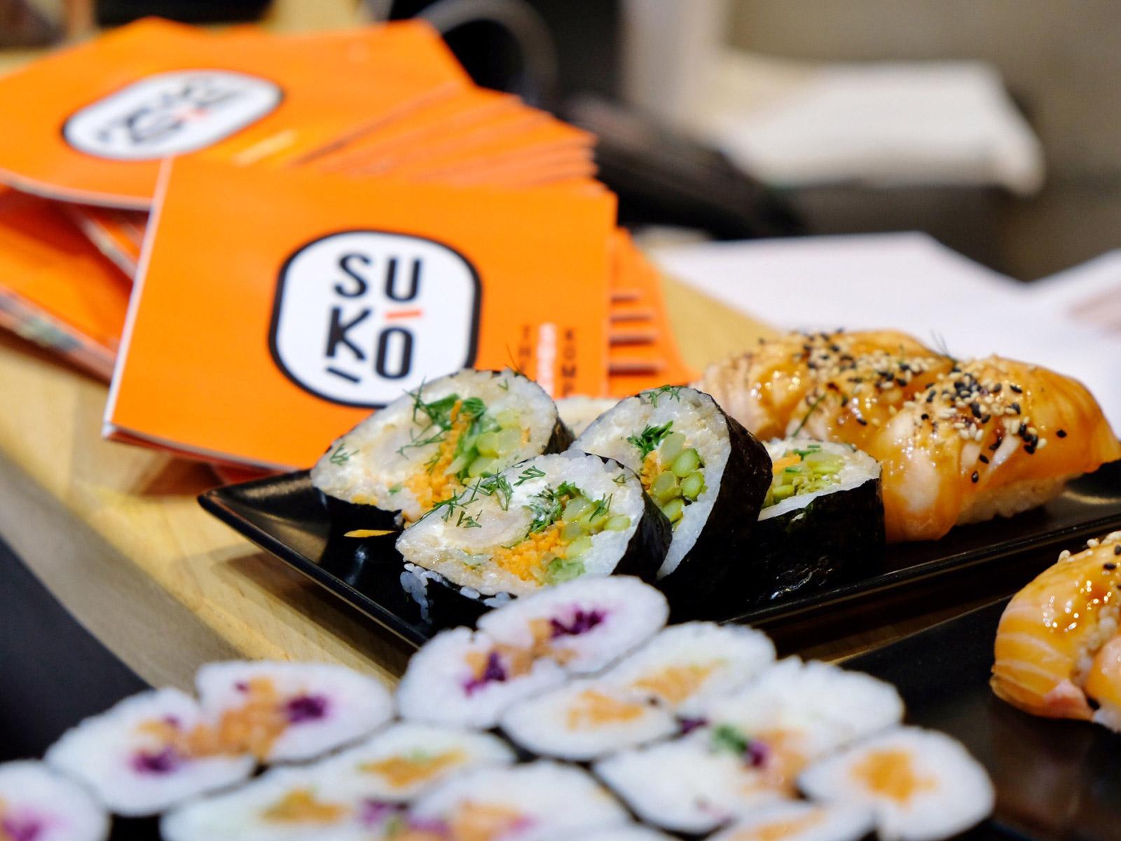 Suko sushi restaurant japonais à Nantes et Rezé