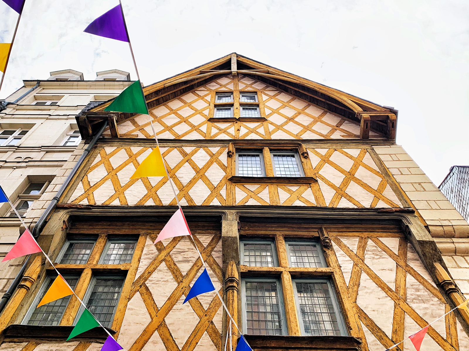 Maison à pans de Bois à voir à Nantes